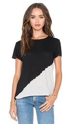 Отбеленная футболка - rag & bone/JEAN