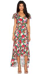 Макси платье с цветочным принтом - Wildfox Couture