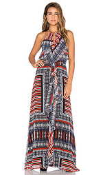 Макси платье с рюшами спереди - Twelfth Street By Cynthia Vincent