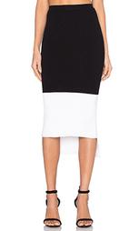 Вязаная юбка с асимметричным подолом agna - Kathryn McCarron