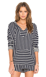 Пляжный пуловер с капюшоном tuf - Michael Lauren
