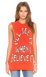 Майка-борцовка believe it - Wildfox Couture