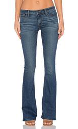Узкие джинсы-клёш средней посадки mia - Black Orchid