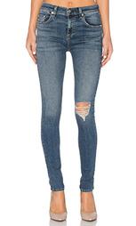 Узкие джинсы высокой посадки - rag & bone/JEAN