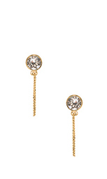 Серьги sparkle chain stud - Marc Jacobs