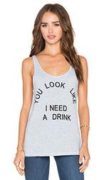 Майка без рукавов need a drink - Junk Food