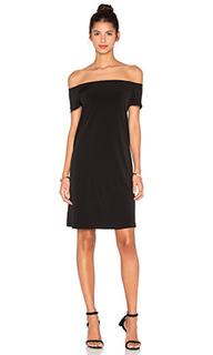 Стрейчевое платье из джерси с открытыми плечами sorana - Velvet by Graham & Spencer