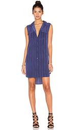 Полосатое платье без рукавов slim signature - Equipment