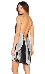 Шелковое платье feather - OSKLEN