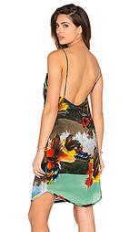 Платье в цветочек feather - OSKLEN