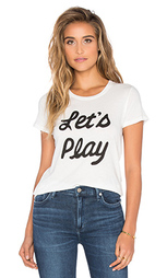 Простая футболка lets play - Clayton