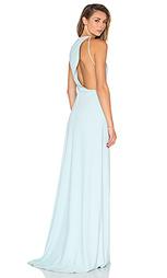 Драпированное платье с вырезом сзади - Halston Heritage