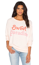 Свитшот sweet paradise - Wildfox Couture