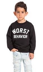Свитшот worst behavior - Private Party