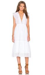 Вышитое платье без рукавов - Rebecca Taylor