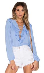 Богемная блузка the ruffle - L'Academie