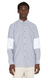 Рубашка с вырезом - Zanerobe