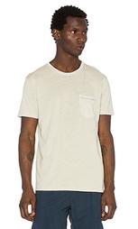 Конопляная футболка с карманом - Mollusk
