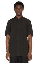 Рубашка на пуговицах с коротким рукавом - 11 by Boris Bidjan Saberi