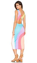 Миди платье с завязкой сзади - Mara Hoffman