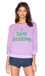 Футболка i hate morning - Wildfox Couture