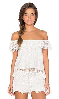 Блуза с открытыми плечами seashell - Nightcap