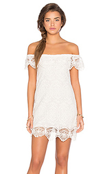 Мини платье seashell lace off shoulder - Nightcap