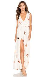 Платье с запахом спереди - Haute Hippie