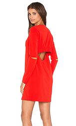 Платье со сборками - Tibi