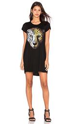 Платье-рубашка lana leopard - Lauren Moshi