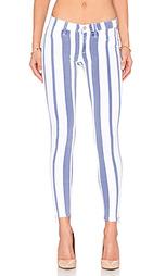 Супер узкие джинсы с молнией внизу штанин krista - Hudson Jeans
