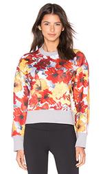 Свитшот run blossom - adidas by Stella McCartney