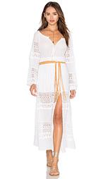 Макси платье со сборками - LoveShackFancy
