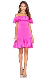 Шелковое платье с открытыми плечами - Rebecca Taylor