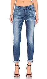 Укороченные супер узкие джинсы средней посадки nico - Hudson Jeans