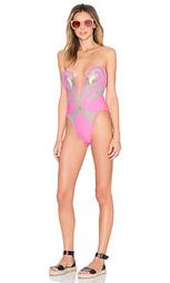 Слитный купальник the kissing flamingo - LEE + LANI
