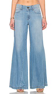Широкие джинсы с асимметричным поясом tyler - Level 99