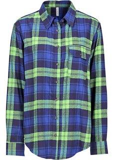 Клетчатая рубашка (красный/синий в клетку) Bonprix