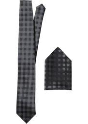 Галстук + платок (2 изд.) (бирюзовый) Bonprix