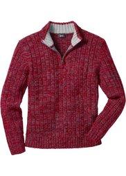 Пуловер (синий меланж) Bonprix