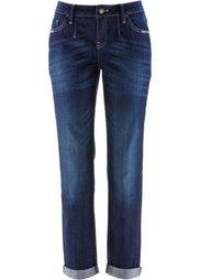 Джинсы-стретч, низкий рост (K) (голубой выбеленный «потертый») Bonprix
