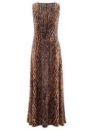 Трикотажное платье (кристально-синий леопардовый) Bonprix