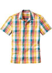 Рубашка (оранжевый/синий в клетку) Bonprix