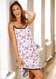 Ночная сорочка (нежно-розовый с рисунком) Bonprix