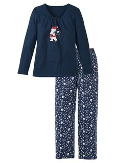 Пижама (красный/белый) Bonprix