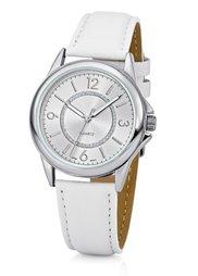 Часы с элегантным циферблатом (мятный/серебристый) Bonprix