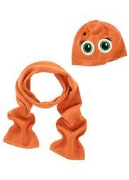 Шапка + шарф, (2 изд.) (оранжевый) Bonprix