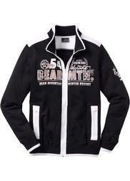 Трикотажная куртка Regular Fit (светло-серый меланж) Bonprix
