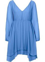 Шифоновое платье (светло-коричневый) Bonprix