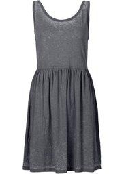 Трикотажное платье (синий) Bonprix
